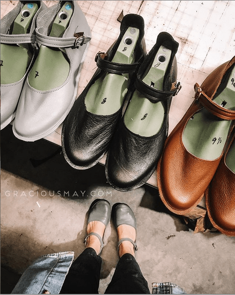 Shoes made in America (USA) by Gracious May