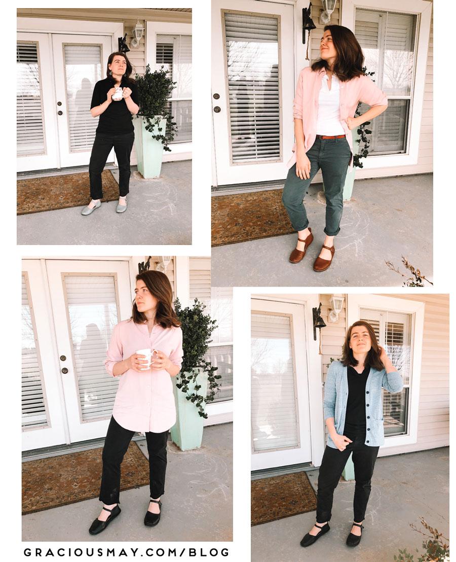 10 Item Wardrobe Challenge