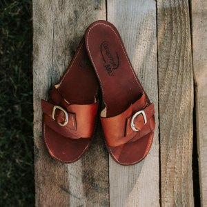 Handmade Leather Sandals Made in the USA by Gracious May