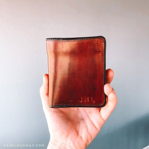 Made in the USA Leather Wallet for Men with Customization