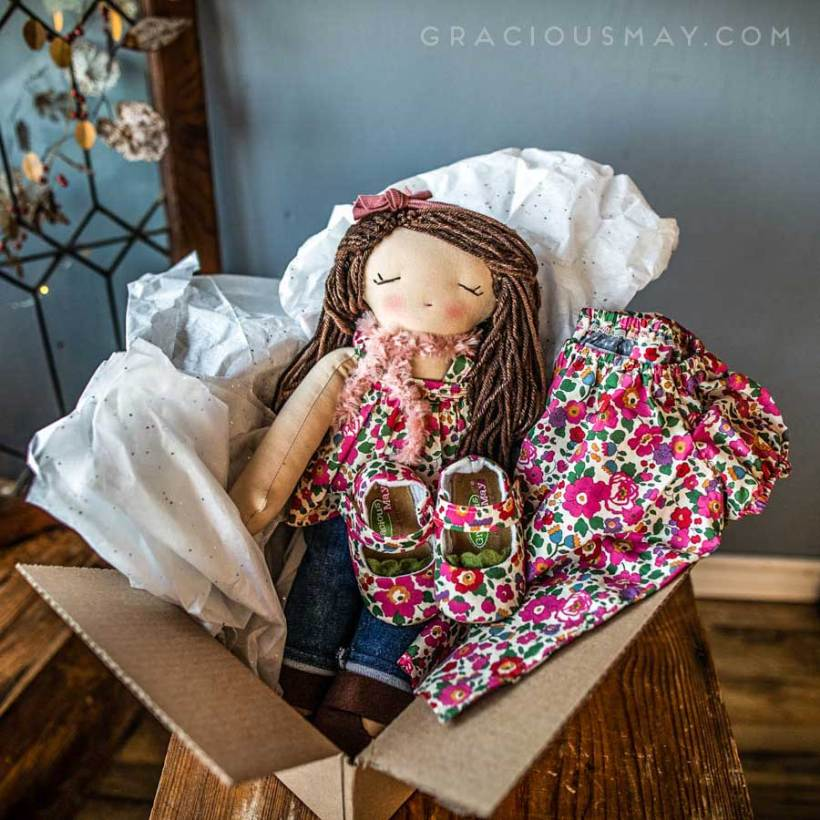 Dolls and Matching outfit for Girls Made in the USA