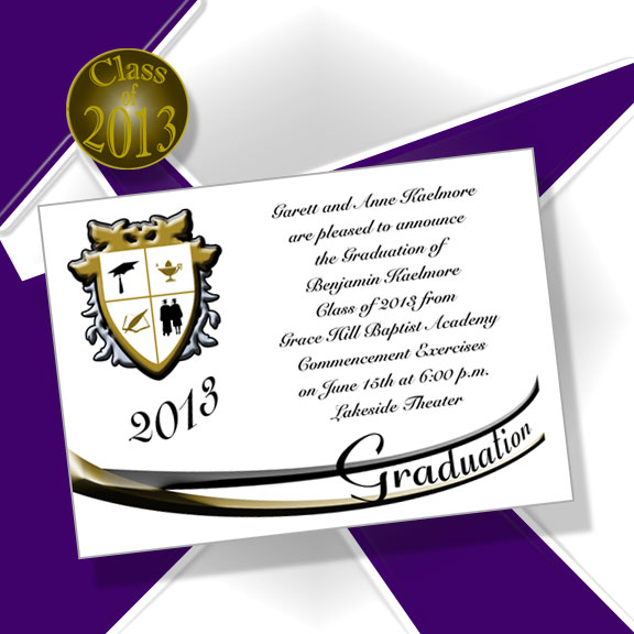 Yale Graduation Invitations