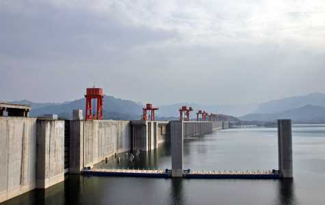The Great Dam of China