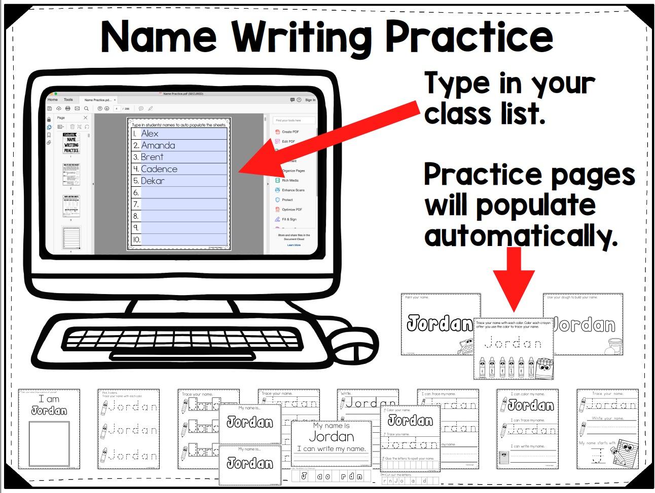 Teaching Name Writing Shouldn T Be Hard