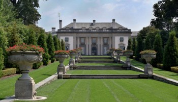 Nemours Mansion & Gardens in Wilmington, Delaware.