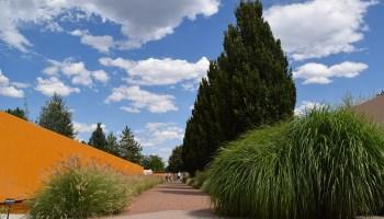 the Romantic Gardens at the Denver Botanic Gardens in Denver, Colorado