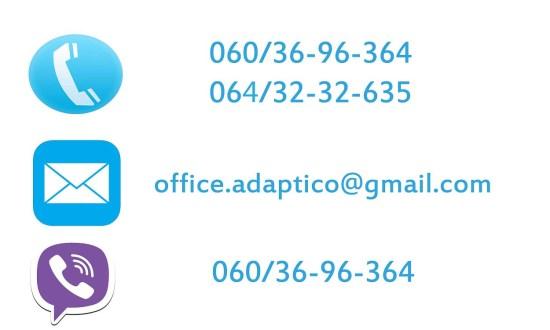 kontakt adaptico