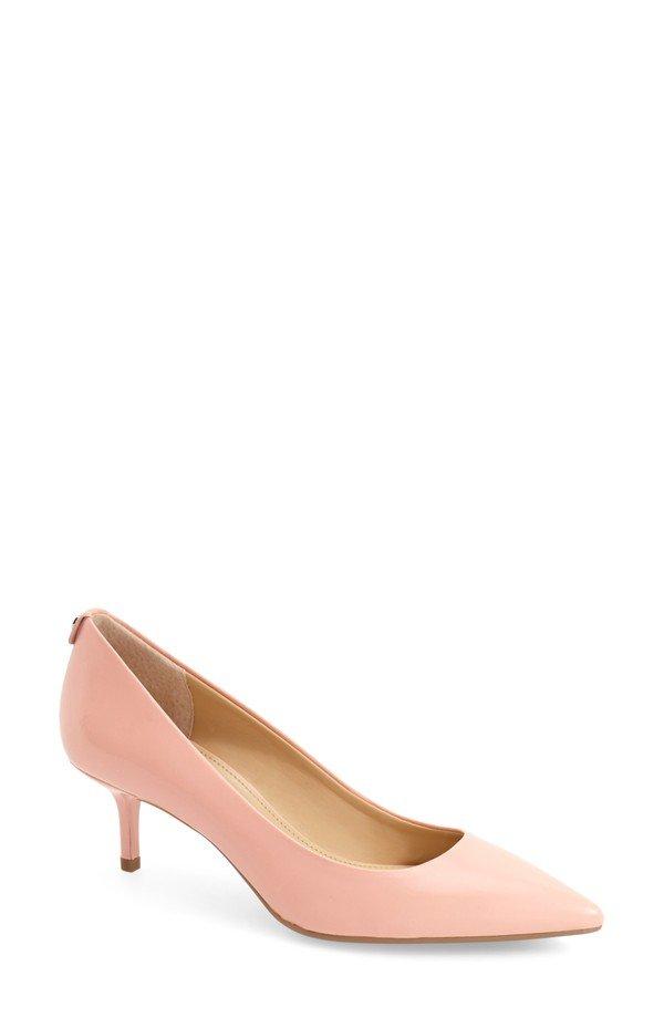 елегантни обувки с малък ток