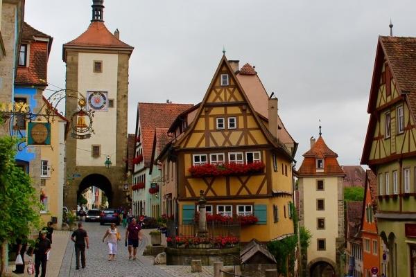 градчета в Германия