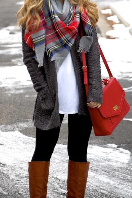 красиви и стилни зимни комбинации