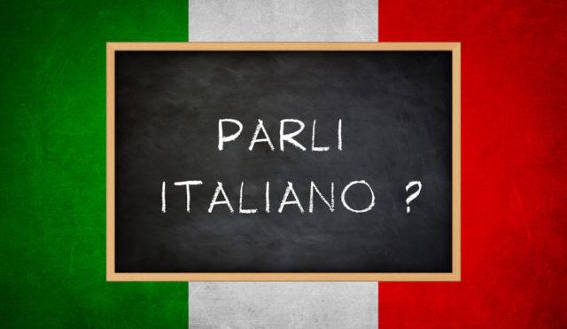 говориш ли италиански