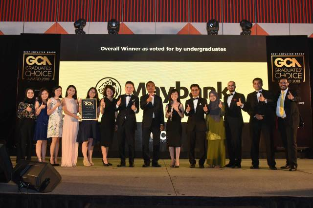 Maybank recognised as the Best Malaysian organisation by TalentCorp