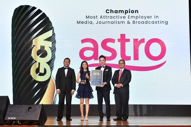 Astro rangkul anugerah Majikan Paling Menarik Pilihan Graduan Malaysia