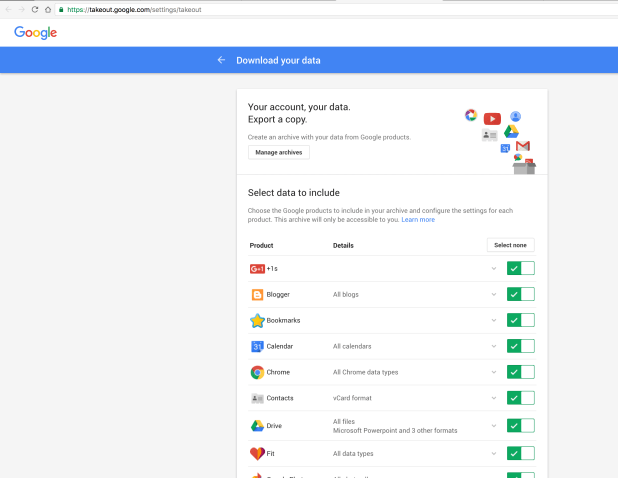 google-takeout-make-backup-data-of-google