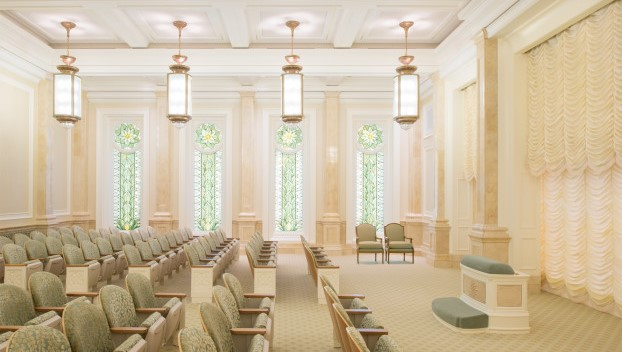 The Church Releases a New Version of the Temple Film Gilbert Temple Instruction Room
