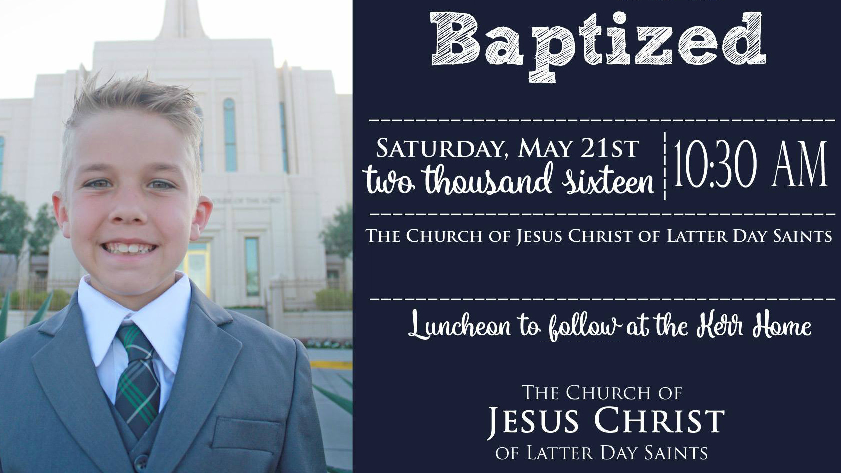Mormon Children Baptized