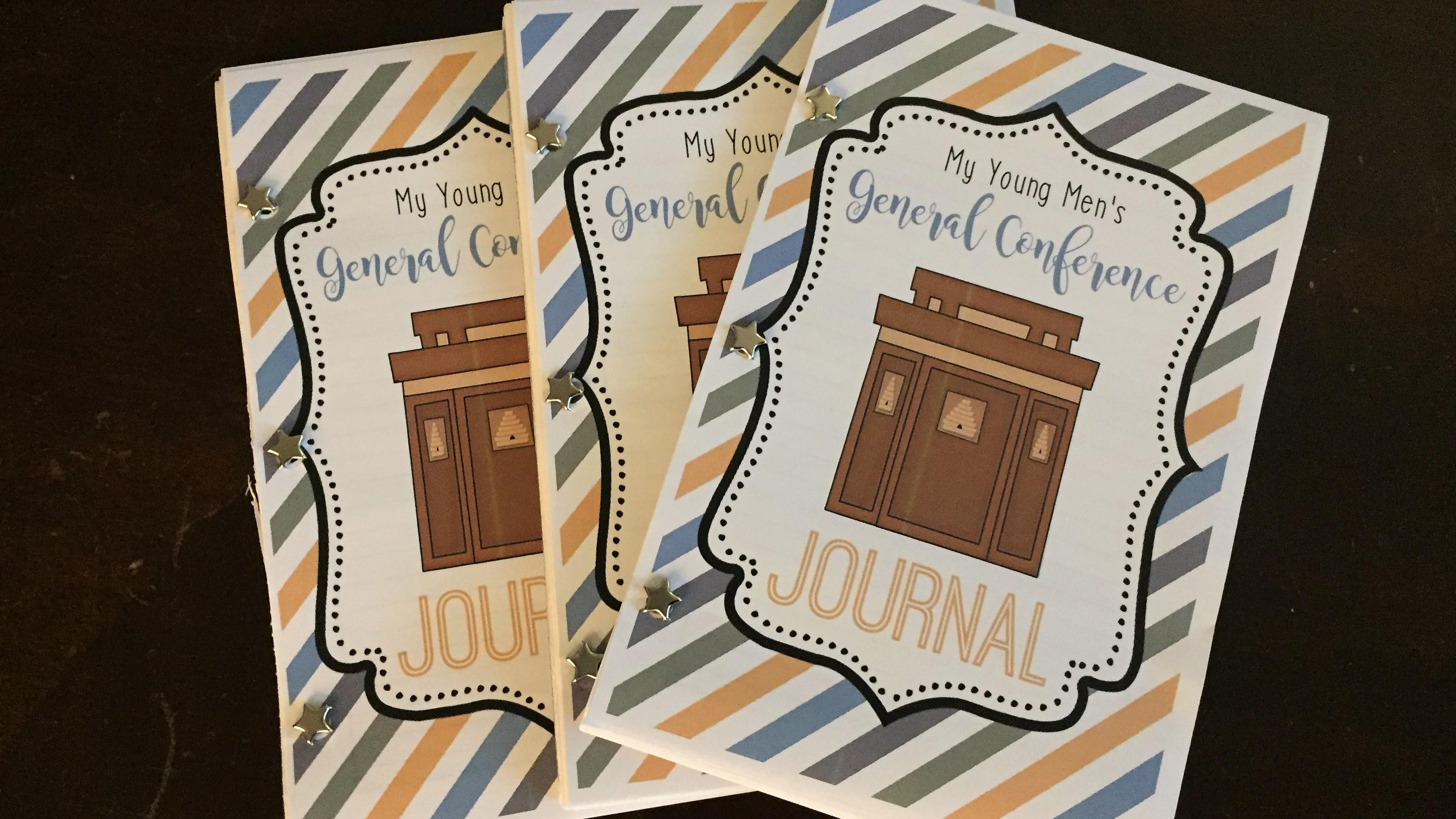 Help Young Men Enjoy General Conference Booklets