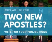 Who Will Be Our Two New Apostles