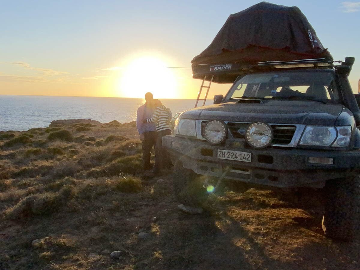 sardinien camp-tour mit dem suv, van oder offroader 16. april