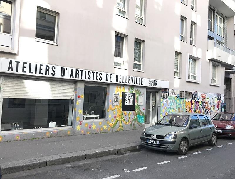 Spots to Visit in Paris, France: Ateliers d'artistes de Belleville - GRAFFEUR PARIS