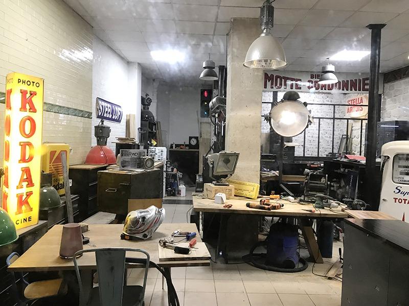 steel loft boutique de mobilier