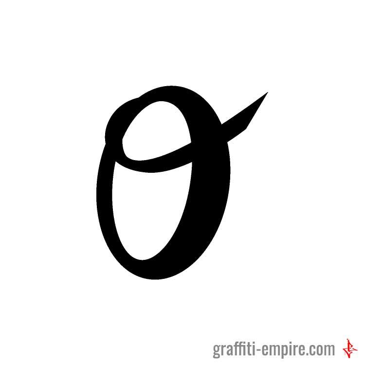 Graffiti Letter O Graffiti Empire