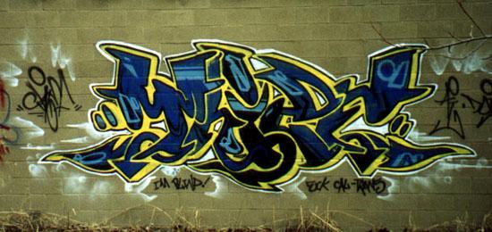 Sacramento Graffiti Bombing 916 Style