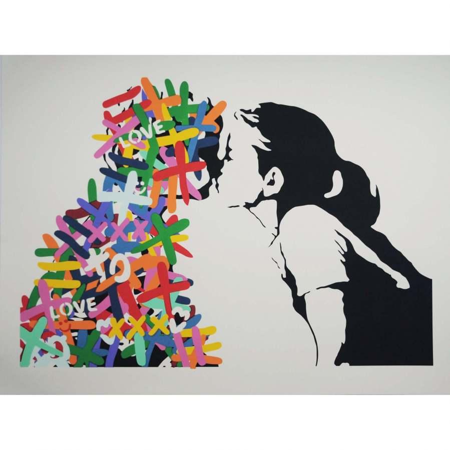 3F-The-Kiss-Print-Square