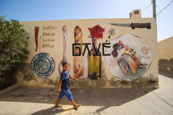 INTI (chile) x AXEL VOID (Spain), Djerba 2014