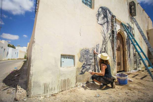 Swoon (US) , Djerba 2014