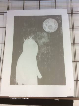 Second Layer Screen printed