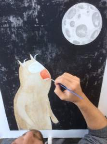 Hand finishing werewolf