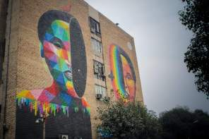 Okuda at Khan Market. photo by Akshat-Nauriyal