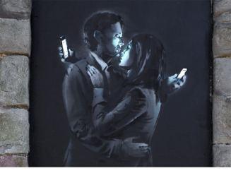 Banksy, Mobile lovers