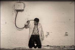 Levalet, Nuart 2014. Photo by Ian Cox