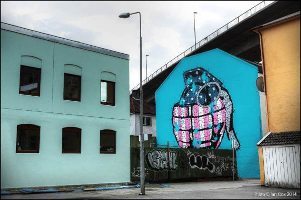 Tilt, Nuart 2014. Photo by Ian Cox