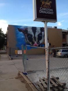 Dvate. Photo © Benalla street art wall to wall