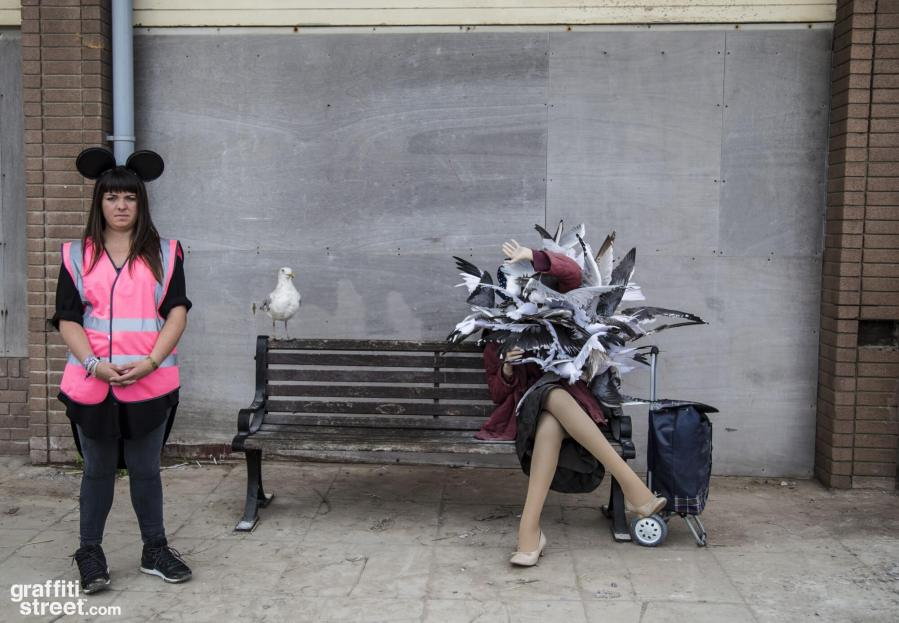 Banksy Dismaland 2015