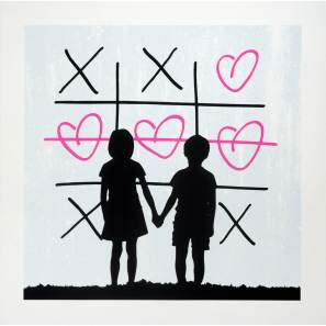 3F - XO (Pink) Print