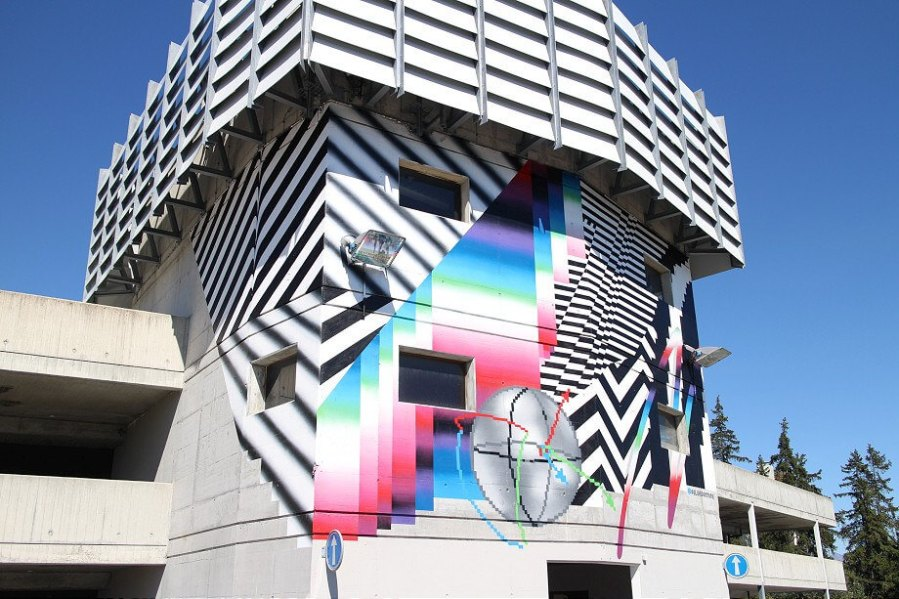 Felipe Pantone. Photo © Sasha Bogojev