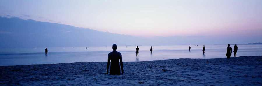 """Another Place"" by Anthony Gormley, Stavanger. Photo Credit Anthony Gormley"