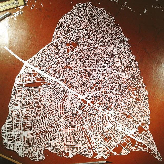 nils-westergard-Map-Amsterdam- leaf-Linden-tree