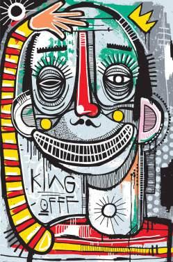 Joachim - King of Clowns Print