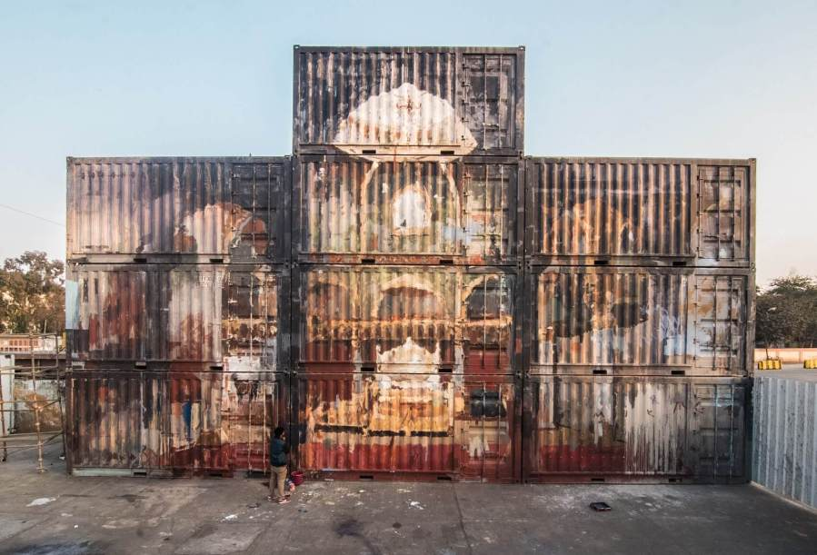 Borondo_WIP_Photo by Akshat Nauriyal