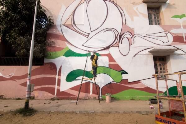 Lodhi Art District - Lodhi Colony. Near the Golden Bakery in Khanna Market.