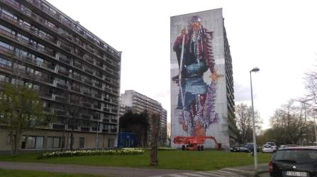Fintan Magee at The Crystal Ship picture by Bjørn Van Poucke