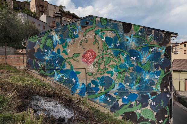 Hitnes Civitacampomarano Ctvà Street Art Festival, Italy