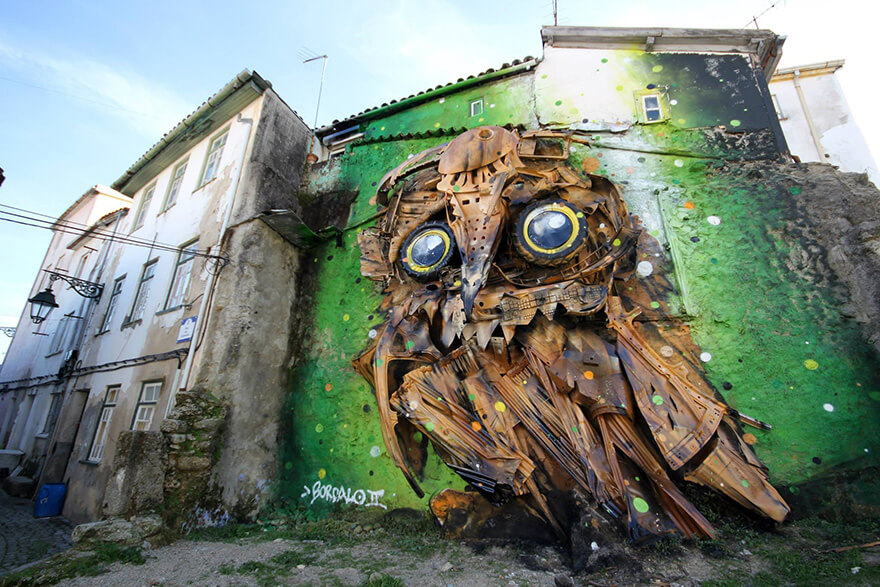 Bordalo II Street Art