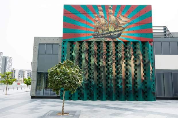 Beau Stanton Dubai Walls Street Art Festival