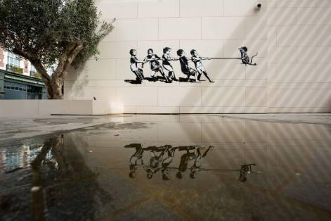 Blek Le Rat Dubai Walls Street Art Festival